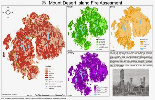 Mount Desert Island Fire Assessment Project