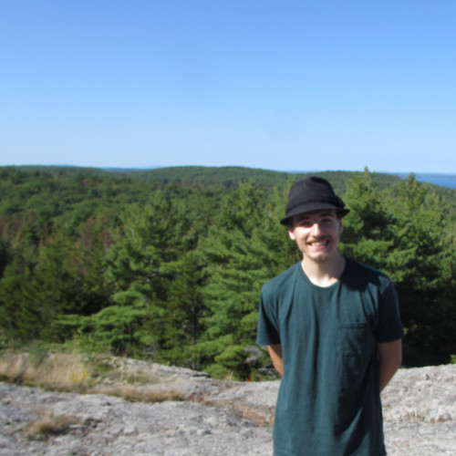 Myself atop a random mountain in Acadia